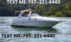2005 Sea Ray Sundancer 280, excellent condition,Single 496 Mercruiser with a Bravo III outdrive - 610 hours.Always professionally servicedSmartCraftFishfinder6 Disk CD Changer5KW Kohler Generator (approx. 500 Hrs)Air ConditioningIncludes Tri-Axle