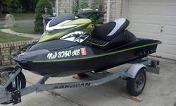 2005 Seadoo RXP Stage III goes over 80 mph and is in excellent condition, motor and supercharger both recently replaced and motor has a warranty until march 2016, ski has 78 hours and runs perfect, also replaced steering cable intercooler and jet pump