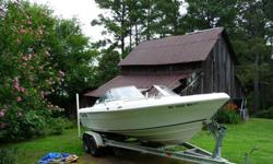 Now has 208 hours on perfectly running Yamaha. Used primarily for boating on Lake Tillery and Badin Lake. Has been on the ocean about 15 times. Is great for a dual use boat. Yamaha has never missed a beat! Very good economy. Will troll nicely in ocean and