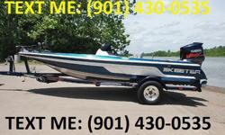 Dual console Bass boat. I purchased this boat as a stripped out repo, I have installed a 1999 Mercury 150 EFI with 340 hrs on it { mercs 200 sleeper motor} Minnkota 24V trolling motor, jack plate, hydraulic steering, new controls and wiring. Nice tandem