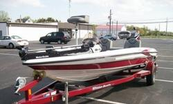 Up for sale is a 2005 Triton TR-186 SC limited edition high performance bass boat, with low hours. This boat is equipped with a Mercury XR 6 150 horsepower 2-stoke engine. There are many accesories on this boat to include two Lowrance fish/depth finders,