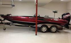 2005 Triton TR-21X Bass boat for sale that is in mint condition. Boat has not been used much and was purchased in June 2006 brand new. This boat that has been garaged kept and maintained with no issues at all. It has a 225 Evinrude E-Tec HO Outboard. The