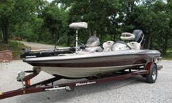 2005 Triton TR186DC.2006 Mercury Optimax 150 .Stainless Steel 4 blade prop .Boat and Motor in excellent condition, original owner .Always Garage Kept.Well Maintained .New Windshield on passenger side, not shown but on boat now .Motorguide 24volt 67lbs