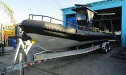 """2005 U.S.I.A. 30? 7? Aluminum Boats Twin 2010 Mercury 300 OutboardsYear 2005Make UsiaSerial# USUE33011F505Condition UsedLength / Beam30' / 7""""Raymarine C120New electrical wiringMidwest Trailer with BrakeRiteEngine #1 2010 Mercury 300 Outboards New computer"""