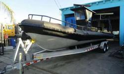 "2005 U.S.I.A. 30? 7? Aluminum Boats Twin 2010 Mercury 300 OutboardsYear 2005Make UsiaSerial# USUE33011F505Condition UsedLength / Beam30' / 7""Raymarine C120New electrical wiringMidwest Trailer with BrakeRiteEngine #1 2010 Mercury 300 Outboards New computer"