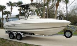 2005 WELLCRAFT 212 FISHERMAN.200 HP FOUR STROKE YAMAHA.2005 EZ LOADER ALUMINUM TRAILER INCLUDED.THIS BEAUTIFUL CENTER CONSOLE IS IN EXCELLENT CONDITION WITH NO DAMAGE. ENGINE IS VERY TIDY WITH ONLY 210 HOURS. JUST COMPLETELY SERVICED BY YAMAHA DEALER AND