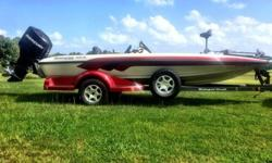 Stock Number: 716205. I am selling my Ranger Boat 188vs 2006 model. I am the original owner of this boat. It is red and white. Mostly white. The ranger stripes are red and grey. It has a Mercury 0ptimax 175v 8 inch Manual Jack Plate, Mercury Fury Prop.