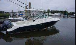Engines just serviced!This 2006 29' Hydra-Sports 2900 Express is rigged to fish!. Owner has maintained his vessel at very high level. Updated Electronics, new pumps, new power steering assist, new stereo speakers, new actuators for trim tabs,