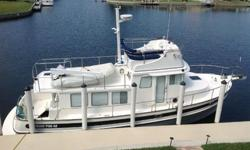 42' 2006 Nordic Tug - showroom appearance with all the extras you want when you cruise. This vessel is solid and clean. Owners now looking to downsize to another vessel after lightly using vessel for 8 years. Owned an operated by a knowledgeable boater.