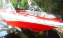 ,,,,,,,,,,,,,,,THIS IS A GREAT WAKE BOARD OR SURF BOAT, SHE WILL DEFINATELY GETS HER SHARE OF LOOKS. NEW UPOLSTERY FROM THE WINDSHIELD BACK IN 2013, NEW HIGH VOLUME BALLAST PUMPS LAST YEAR. I HAVE THE BOAT PROFESIONALLY BUFFED AND WAXED. WE DO NOT USE THE