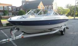 With this 2006 Bayliner 185 you will quickly see that you don't have to spend a fortune to have a really great time on the lake. My wife and I were the second owner of the boat but are really good friends with the person we purchased it from. This was the
