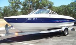 THIS IS A BEAUTIFUL, WELL BUILT, 2006 19 FOOT BUILT BY BAYLINER. IT IS EQUIPPED WITH SEVERAL OPTIONS AND IS READY TO GO...SO WHY PAY FOR A NEW ONE? THIS BOAT RUNS AND HANDLES EXTREMELY WELL. THE 3.0 LITER MERCRUISER PUSHES THIS BOAT WITH MORE THAN ENOUGH