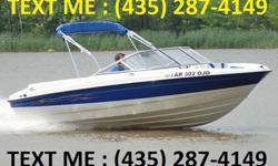 """Only 165 hrs 5.0l mercruiser alpha1 out drive, loaded a/c hot water heater full head with shower, microwave , cooktop, fridge runs on 12/120 volt, rear deck shower, gps and fish finder, CD player with deck remote, 24"""" led tv, full deck encloser, swim"""