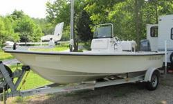 Blazer Bay 1960 Double Hull Fishing Boat 2006 with Aluminum StarLine Trailer50 Hours on a Yamaha 115 Hp. Four Stroke Outboard.All Ready To Go; Bimini Top, Sonar, GPS,Wet Dry Storage, 50 gallon Tank, 2 Swivel Seats and One Butt Fishing Seat.On Board