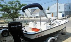 Boat is very clean with low hours. Everything in and on this boat is easy to do/clean and runs beautifully. Bottom just painted this week....boat is ready to go! I am the original owner of this boat and it was purchased new from the dealer 7/07. Have