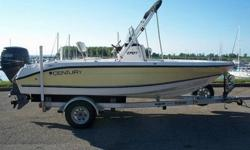 This listing is for a 2006 Century 1701CC center console boat with 90 hp four stroke Yamaha engine, black Sunbrella bimini and aluminum trailor. The boat and engine have about 50 hours on it since purchased. The boat is in great condition and it has been