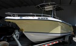 Super clean and LOADED 2006 26 foot Century 2600 Center console off shore fishing boat!!! The boat is in awesome condition inside and out and full of cool options. It comes with the aluminum triler in the pics and is powered by twin Yamaha 225 four