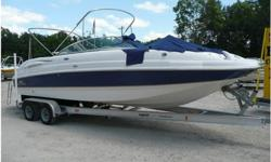2006 CHAPARRAL 274 Deck Mercruiser 5.7 liter, Mercruiser 5.7 liter 275hp engine with great compressions. 18 hours on the engine. Duo stainless steel propeller, bimini, full cover, porta potti changing room with a marinen head, cockpit sink, battery