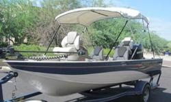 ,,,,2006 CRESTLINER 1600 ANGLERMERCURY 75 HP EFI FOUR STROKEMINN KOTA 70LB TROLLING MOTORFRESH WATER BOATFULLY SERVICED19 gallon aerated livewellBaked Armor-Guard paint processCarpet 16 oz. marine gradeCasting platform with storage compartmentsConcept DX