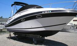 ,,,,,,,,Features IncludeVolvo-Penta 320 HP with less then 70 hoursBuilt in freshwater flush system for engineStainless propsCockpit coverWindlass Anchor chain, and ropeShore powerAir conditioning with reverse cycle heat and digital thermostat 16000