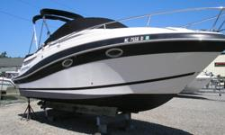 ,,,,,,,,,,,,,,,,,,,,2006 Four Winns 258 Vista with low hours in good condition. This is a very nice sized cruiser providing a good combination of luxury, power, and manageability. Four Winns has a great reputation for building high quality boats with