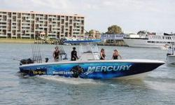 "2013 Mercury 300hp Verados Under Warr.2018.This rate includes all of the following?- Ocean Freight- BAF- Forwarding Cost- Cradle Handling- Port Handling- Insurance- Inland from Seminole ? Savannah- Clean- Shrinkwrap- Cradle- Port Delivery2006 32"" Fountain"