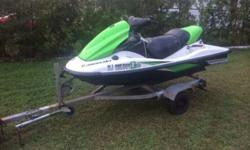 2006 KAWASAKI STX 15F Jetski-155 Hours-4 stroke-fuel injected-new battery-fresh oil changeski runs great, no problems whatsoever, I have every piece of paperwork from when ski was purchased brand new!trailer comes with the ski but I do not have any