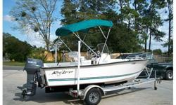 2006 KEY LARGO 180 CENTER CONSOLE 18FT WITH A 2006 ALL ALUMINUM MAGIC TILT BOAT TRAILER.This is a 2006 Key Largo 180 center console boat, powered by a Yamaha 70hp. Very clean, This is a 1 owner boat. Does not have a hour meter but owner said it was taken