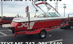The boat also features 3 hard ballast tanks for 700 lbs of factory ballast! Along with the tower and wakeboard racks making this a great all around wake boat. If skiing is more your thing then no worries, this boat also has an extended ski pylon as well.