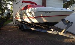 The 2400 SC3 is a great entry-level cuddy cabin cruiser for just about any boater ? especially those who don?t quite know what they?re going to use their boat for and want to make sure all the bases are covered.Fiberglass cockpit liner, lockable entry