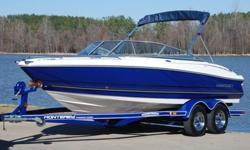 You are viewing a SUPER MINT 2006 Monterey 194 F+S edition bow rider boat. This one owner boat is in exceptional condition and shows to have been barely used. Boat has always been in climate controlled storage. ONLY 60 HRS ! ! ! 53 MPH ! ! ! EXCEPTIONAL