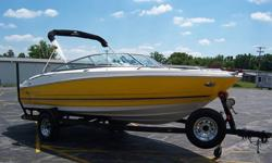 2006 monterey runabout 194 fs, 19ft 4in runabout, 5.0 engine, volvo sx outdrive, ONLY 24 HOURS, like brand new,bimini top never been out,large rear dive platform, walk thru windsheild,front and rear ladder, kenwood radio cd player with changer-dual