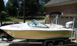 ONE OWNER 2006 Pioneer Venture 197 20' Dual Console, Fighting Lady Yellow hull, 2007 Evinrude E-Tech 150 Saltwater Edition, 2007 Wesco Dual Axle Aluminum trailer with brakes and spare tire carrier with spare. Boat was purchased new in March 2008. Motor