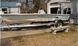 2006 Ranger 191 Cayman, 2006 Ranger 191 Cayman with 150 Mercury Optimax. It has a Minn Kota 80lb, 24V, Riptide with Copilot, Hand and Foot Control,Garmin 188C GPS/Sounder, Power Pole, Butt Seat, Three Bank Charger, Raw Water Washdown, Rod Storage and Rod