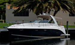 This unit is powered by twin 8.1 Volvo Penta OSi Fresh~Water Cooled Engines with only 215 Starboard, and 335 port on hours of total use. This boat is fully loaded to the tilt, with almost every factory option available it seems. From the Generator (needs