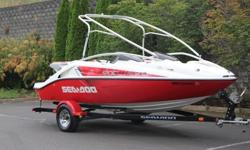 2006 Sea-Doo Speedster 200 310 HP 19?9?Sea-Doo Speedster 200 model combines twin Rotax 4-TECTM four-stroke technologiy for the highest horsepower on the market and the best acceleration in its class.Responsive handling and formidable horsepower make