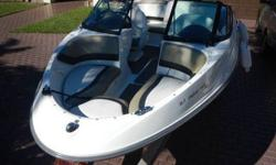 New everything, engines are fully serviced and tuned up, new radio with DVD PLAYER, MP3, BLUETOOTH FULL LOADED amp and subwoofers, UNDERWATER VIDEO SYSTEM FOR VIEWING 20FEET WITH SUBMERGED CAMERA upholstery like never being used, two NEW batteries with