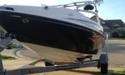 2006 Sea Doo Speedster Wake with 2-215HP jet engines and 2006 Sea Doo Karavan Trailer. Boat is in excellent condition with only 55 hours. This boat will do 65mph with a full load and is a blast to own. Boat has been cleaned, winterized, and stored each