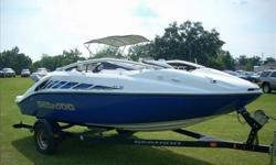 2006 Sea Doo SPEEDSTER 200. This is a 2-owner boat that has been well taken care of. Equipped with 2 Supercharged Rotax Engines that make 215 HP each 430 Total. They have closed loop cooling, which means no water from the lake/river/ocean, etc. enters the