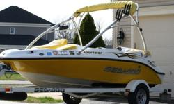 2006 Sea Doo Jet Boat in very good condition. This boat has been well maintained and cleaned after every single use. This is an excellent boat; it runs perfectly with no issues and starts up every time. The boat has never operated in salt water!
