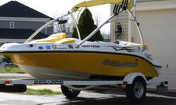 For sale is a 2006 Sea Doo Jet Boat in very good condition. This boat has been well maintained and cleaned after every single use. This is an excellent boat; it runs perfectly with no issues and starts up every time. The boat has never operated in salt