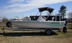 THIS IS THE PERFECT BOAT! In excellent condition! Very well maintained and serviced! Less than 200 hours running time! I bought the boat new from a dealer the end of 2006 and have made a number of improvements along the way.I use it for fishing, trolling,
