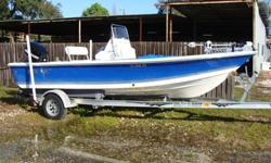150 HP Optimax-Mercury with 179 Hours, Aluminum Magic Tilt Trailer, Bimini Top with boot, Lowrance GPS FishFinder, VHF, AM/FM, Full cushions, 3 livewells, new trolling motor 24 V 80 lb thrust, New batteries and battery charger. Boat is very well kept and