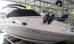 PRICE INCLUDES 8,000 lb. LIFTBoat has roughly 163 HoursFresh Water OnlyExcellent Condition (Well above average for a boat of this age)Boat and lift are currently on the Tennessee River in the Watts Bar area. The 240 Sundancer is a grand first step into