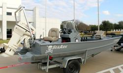 2006 SEAARK 1660 MVT TUNNELEXCELLENT CONDITION AND NO RESERVEFULLY TESTED FULLY FUNCTIONALNO ACCIDENTS NO ISSUESCLEAN CLEAR TITLE TO BOAT/ ENGINE AND TRAILERENGINE IS 2005 (LAST YEAR) JOHNSON 50 HP TWO STROKE THESE ENGINES ARE KNOWN FOR BEING BULLET