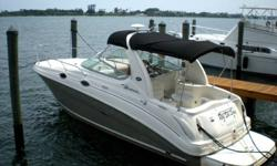 2006 Sea Ray Sundancer with twin 4.3 mercrusers that are in great shape the out drives have been gone thru with less than 50 hrs on them the boat has brand new cabin cushion and back rest along with new carpet the bottom paint is less than two months old