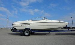 The Stingray 180 RX rides on a patented Z-Plane hull, which has proven through independent third-party tests to produce better than average performance. It is rated to carry up to seven passengers or 1,070 pounds, so they built in plenty of storage