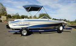 Kenwood AM/FM CD MP3 USB satellite ready stereo, glove box, 2 removable fishing seats, Motorguide 54 lbs. thrust 12 volt trolling motor, livewell, carpet, cup holders, tons of storage, bimini top, battery charger, transom trim control, and a matching