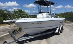 2006 Triumph 215 CC with Brand New Yamaha F 150 XB Engine 3 years factory warranty!!! Awesome Boat in Excellent condition! The boat is like new! All New cushions, bolsters, graphics decals, running & courtesy lights. New T-Top fabric, New bilge pump, New