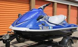 2006 Yamaha VX110 Deluxe in Excellent Condition !Jetski is 4 years old with only 44.7 hours on it !This is a great jet ski for families. Young and old can enjoy, easy to get on almost impossible to flip. This jetski was designed for families and sport